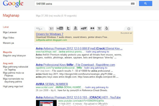 Get Serial Key,Keygen,Patch of any Software on Google Using